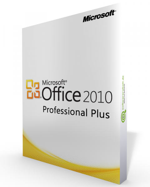 Microsoft Office 2010 Professional Plus Vollversion