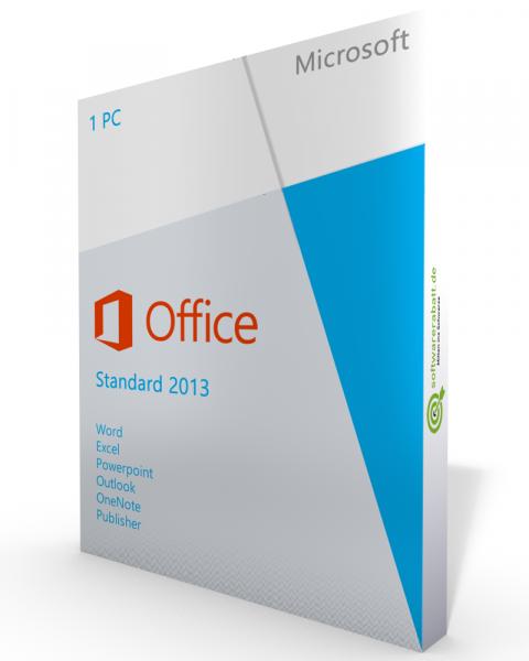 Microsoft Office 2013 Standard Vollversion