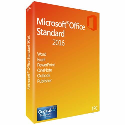 Microsoft Office 2016 Standard / Download