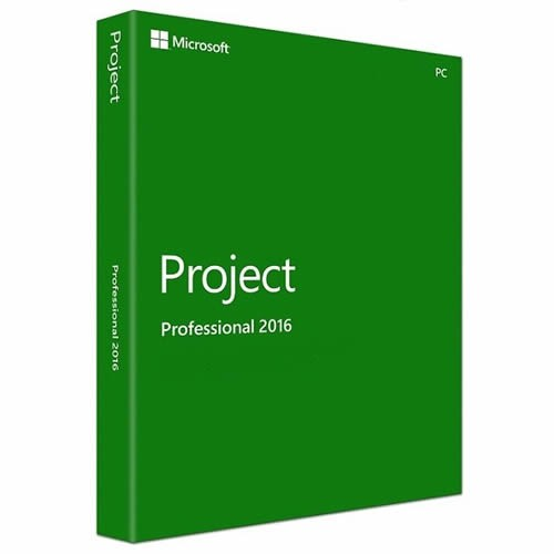 Microsoft Project 2016 Professional (click to run kompatibel)