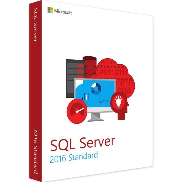 SQL Server 2016 Standard 5 User CAL