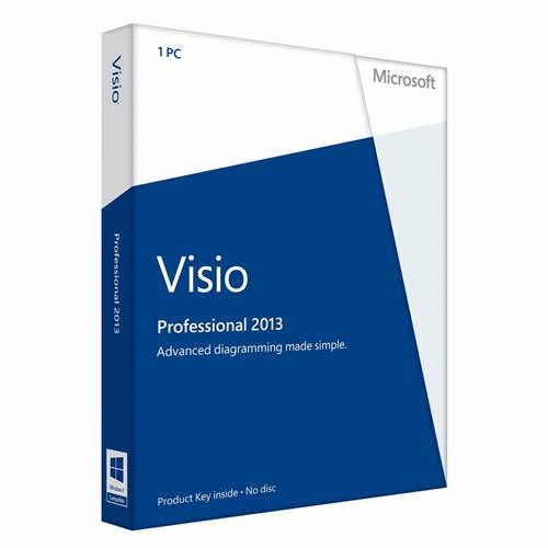 Microsoft Visio 2013 Professional deutsch